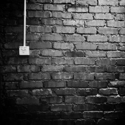 Blackandwhite EyeEm Best Shots - Black + White Bw_collection Brick Wall