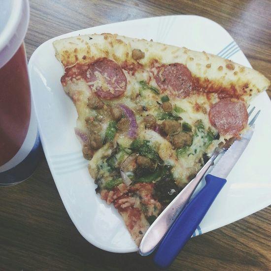 Costco food, knife and fork required. Costco Costcopizza