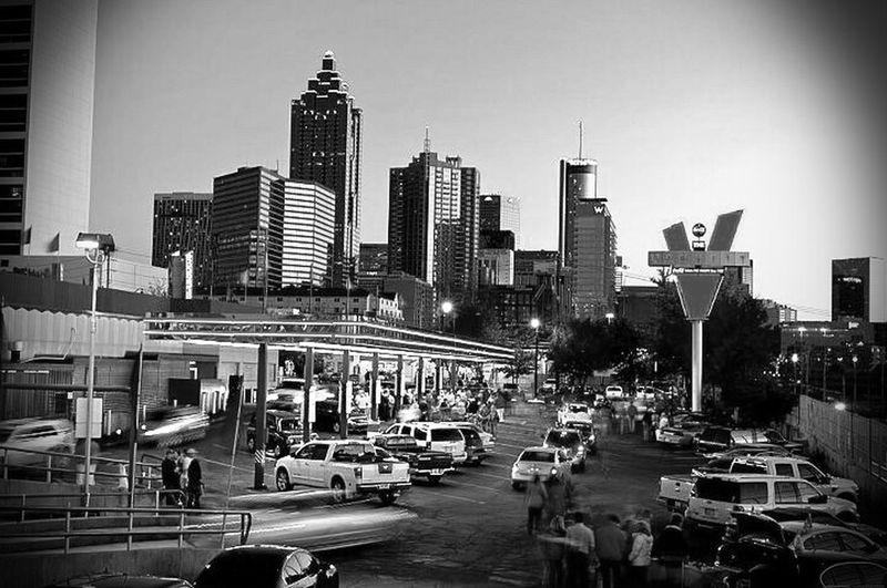 Atlanta Citylife Downtown Taking Photos