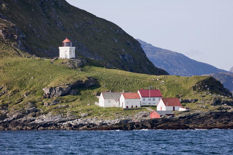 Lighthouse at the coast