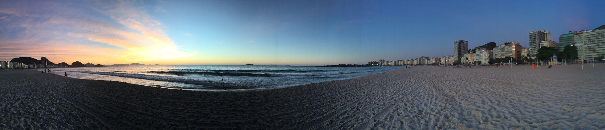 Manhã em Copacabana Beach Beauty In Nature