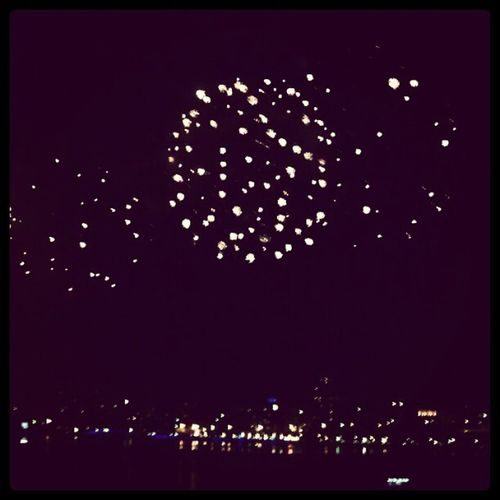 今晚的台北好美 Taipei Fireworks Festival 2012