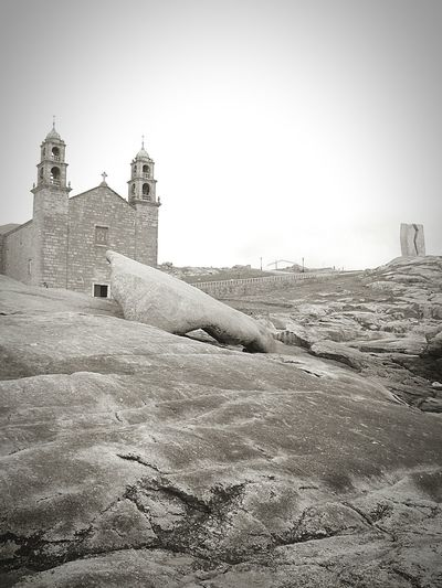 First Eyeem Photo No People Church Architecture Tranquility Blackandwhite La BARCA Muxía