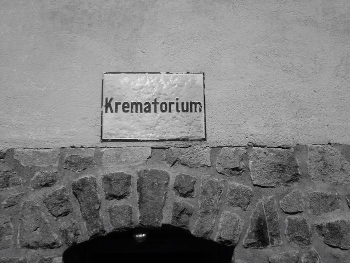 One of the sadest places in Europe, the Krematorium in the Concentrationcamp Mauthausen in Upperaustria . Thousands of people died here between 1938 and 1945 .