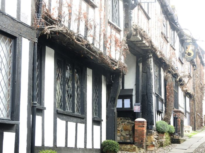 Architecture Building Exterior Built Structure History Architecture Low Angle View Mermaid Inn No People Residential Building Tourism Destination