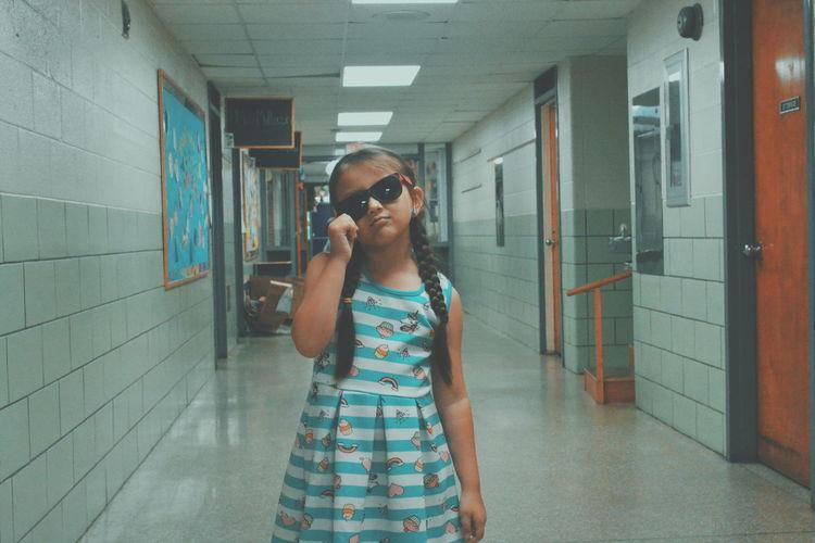 Kid Child School EyeEm Selects Childhood Children School Flow School Flow School Life  Standing Eyeglasses