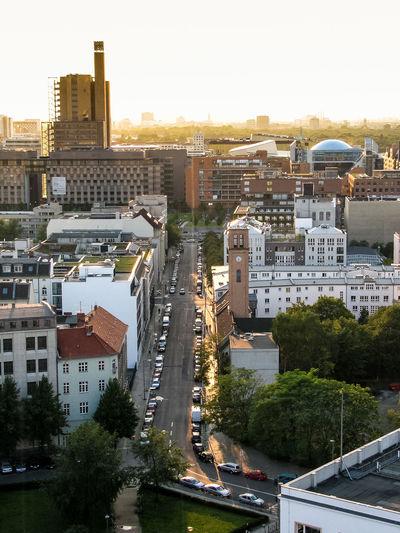 Anhalter Bahnhof Anhalterbahnhof Berlin Berlin Mitte Berlin Panorama Berliner Ansichten Capital Cities  Hauptstadt Hochhäuser Sky Skyscrapers Sunset Urban Landscape Urbanphotography
