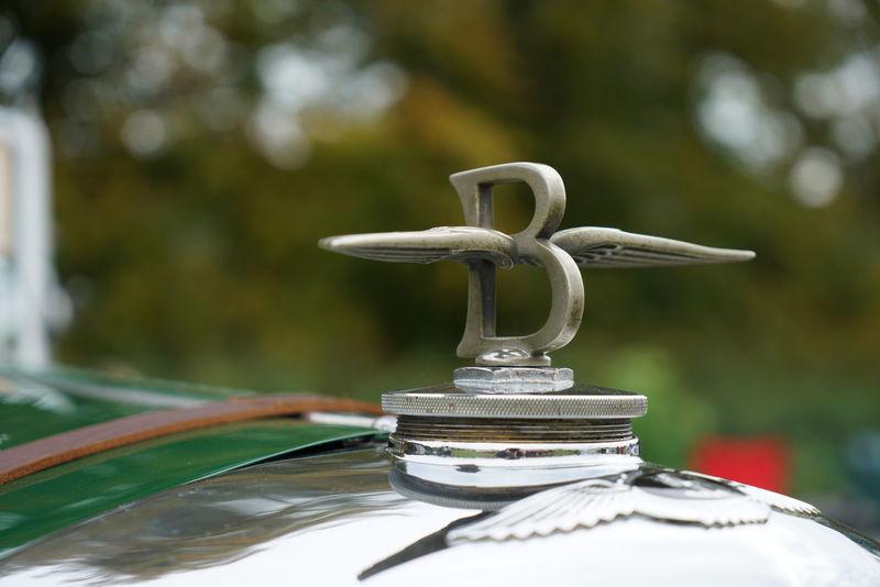 Wing B Bentley Bonnet Car Emblem  Hood Ornament Vintage