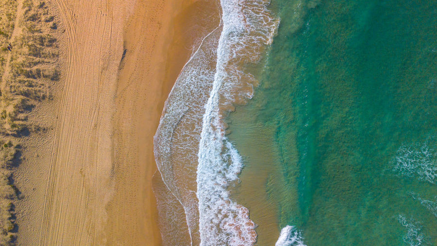 arial view beach Australia Nature Arial Beach Beauty In Nature Ocean Sandy Scenics