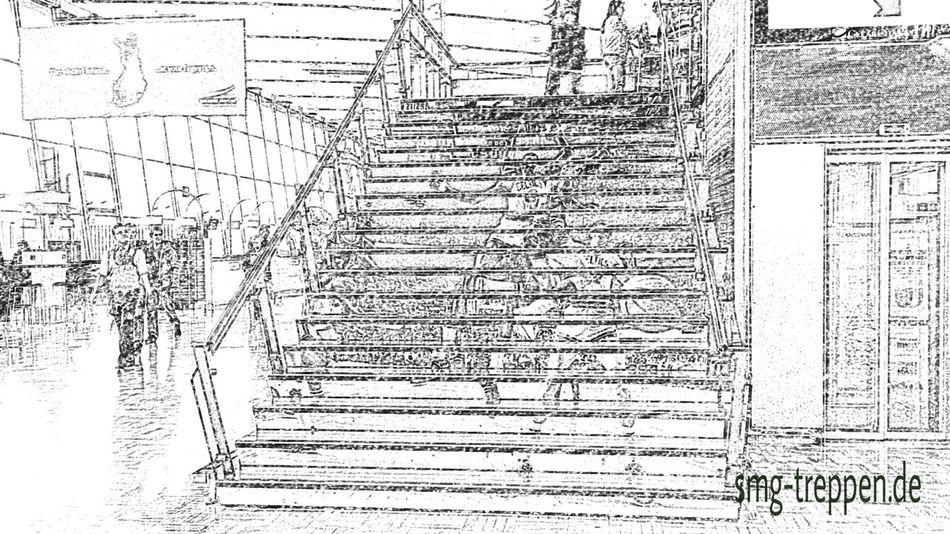 Smg Treppen Helsinki Airport Treppen Stairs Escaleras