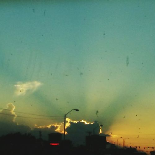 Oklahoma sunsets Sunset Cloud Tranquility Sky First Eyeem Photo