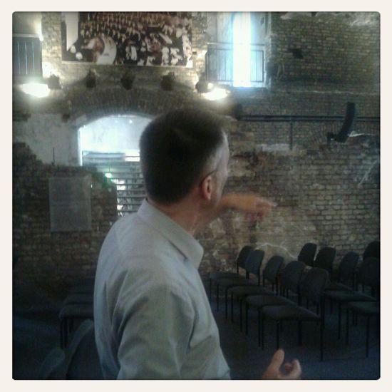 Im alten Hörsaal wurde nur Theorie gelehrt. Museup