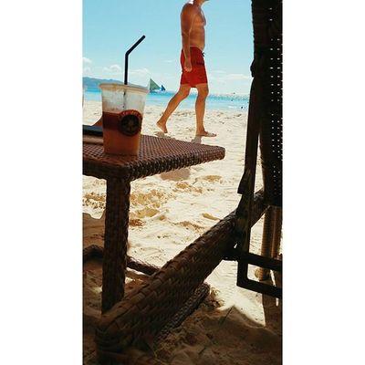 Mangoshake 망고쉐이크 Whitebeach Boracay Paradise 보라카이여행 보라카이 여행 여행스타그램 우정여행 @yyyyhana