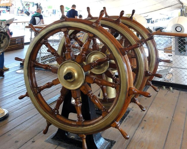 Taking Photos Tadda Community Being A Tourist Historic Ship
