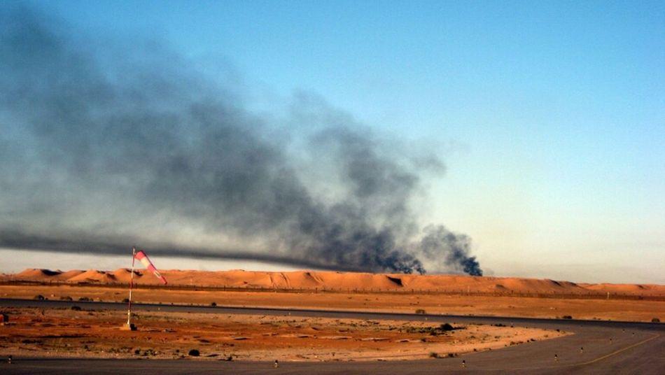 Desert Algeria Petrol