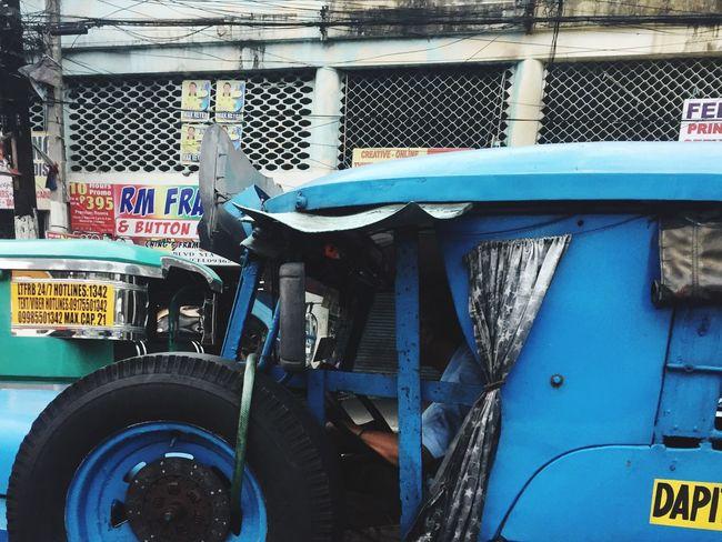 Quiapo Manila Philippines Blue Jeepney EyeEm Phillipines Philippines Photos Everyday Lives Commuting Transportation Localscene Local People Culture Travel Photography Travel Destinations Embrace Urban Life