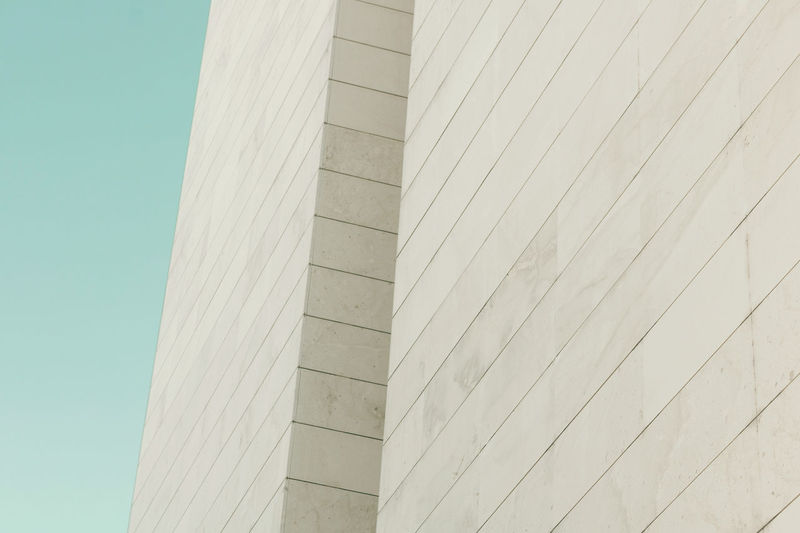 Abstract architecture Abstract Architecture Building Exterior Built Structure Clear Sky Day Minimalism No People Outdoors Skyscraper Stone Material Stones