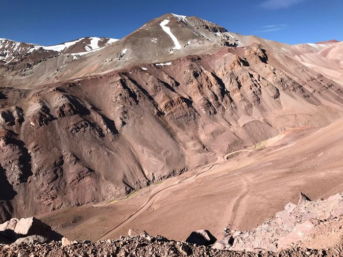 Paso Agua Negra, 4700m, Argentina Scenics - Nature Mountain Nature Landscape Beauty In Nature Environment 17.62°