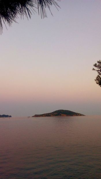 Outdoors Tranquility Sunset Landscape Sea Sky Horizon Over Water Beauty In Nature Summer Vacations Greek Summer Summeringreece