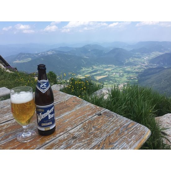 Schneeberg, Austria Alcohol Beauty In Nature Bottle Close-up Day Drink Food Food And Drink Freshness Mountain Mountain Range Nature No People Outdoors Scenics Schneeberg Sea Sky Water