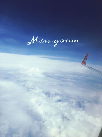 miss you from 29.000 feet
