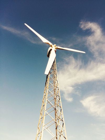 Wind Power IPhoneography EyeEmNewHere EyeEm Nature Lover EyeEm Best Shots EyeEm Nature Wind Power Wind Turbine Alternative Energy Windmill Renewable Energy Environmental Conservation Fuel And Power Generation Low Angle View Industrial Windmill Traditional Windmill Day Sky Outdoors No People Technology Blue Rural Scene Nature EyeEmNewHere The Great Outdoors - 2018 EyeEm Awards