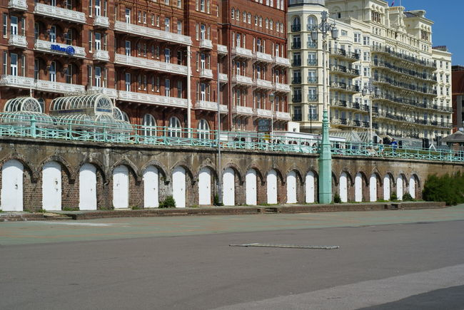 Arcades Arches Architecure Brighton Brighton Beach Built Structure Hotel Repetition Seafront Sussex Coast Victorian