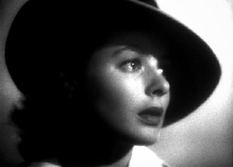 Casablanca Movies Shot Filmes Film Photography Filmphotography Blackandwhite Black And White Actrees Classic Movies just for her worry and supplicant eyes...