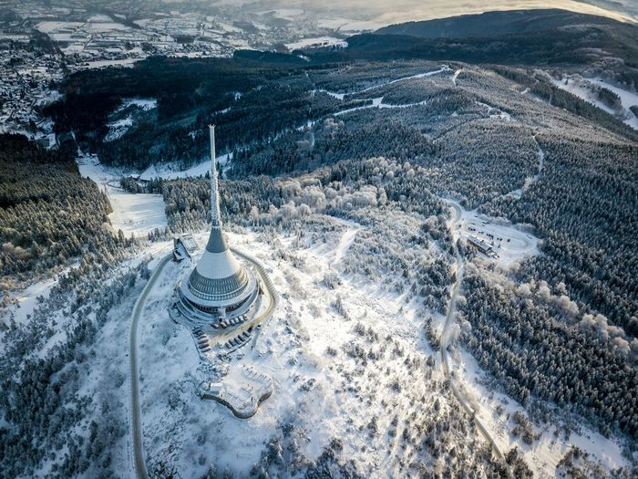 Jěštěd - Czech Republic Fromwhereidrone Czech Republic Jested Scenics Outdoors Tranquility Mountain Range Travel Destinations