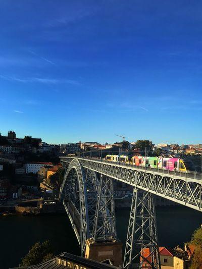 Bridge - Man Made Structure Architecture Connection Transportation Sky Railroad Bridge Bridge City Building Exterior