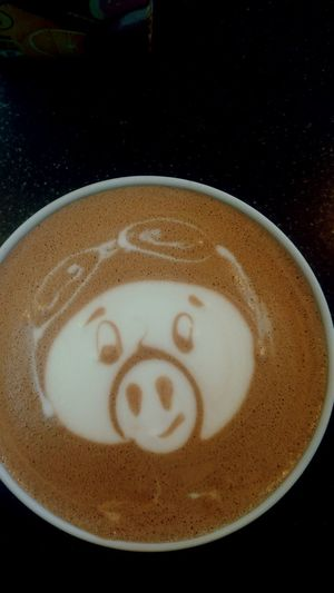 Feeling Good Piglet 🐷🐽 Piglet Good Morning Love My Job Barista Just Something First Eyeem Photo Latteart Mood Of The Day At Work With Love Kakao Kakao ♥ Visual Feast