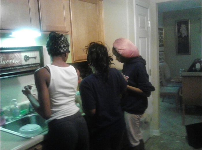 My Cousins And They Friend Cooking Food For Me I Was Chilling!!!