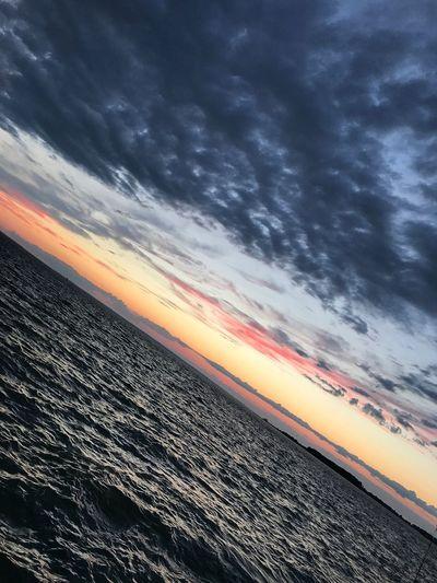 The Week On EyeEm Sunset Scenics Sea Beauty In Nature Tranquil Scene Sky Horizon Over Water Outdoors Nature The Week On EyeEm Been There.