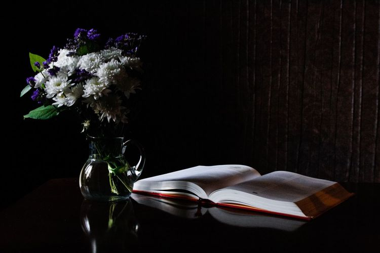 Still life with flowers and a book. Still Life StillLifePhotography Flowers Flowers, Nature And Beauty Showcase: March