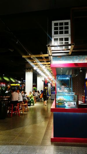 Food Court Authentic Food Contrast Lights Chatswood Authenticity Authentic Traditional Asian  Food Chain Market Food Fresh 3 People