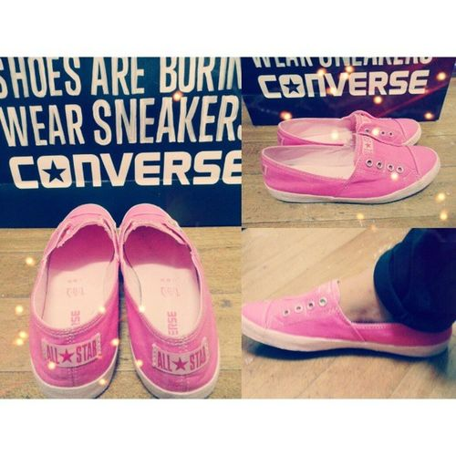 Pink Converse Espadrilles. :) Converse Espadrilles  ConverseEspadrilles Pink