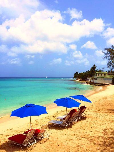 Sunshine Being A Beach Bum Enjoying The Sun Getting A Tan EyeEm Best Shots - Landscape Travelling Barbados Relaxing Life Is A Beach Sea