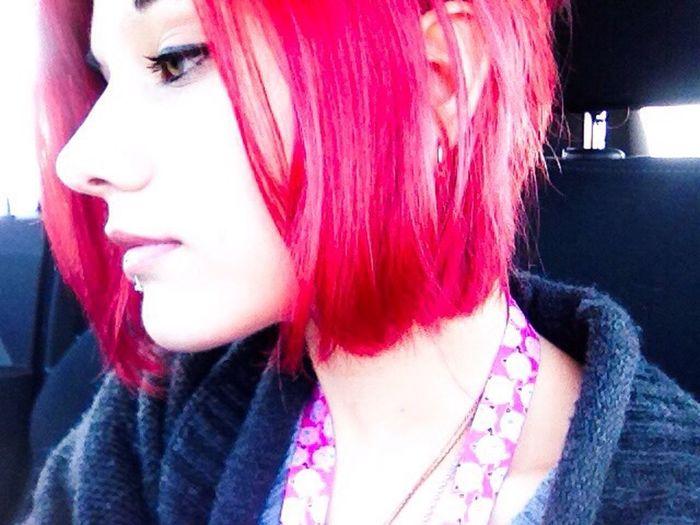 Selfie Selfportrait Random Red Redhead ThatsMe Pokémon Jigglypuff