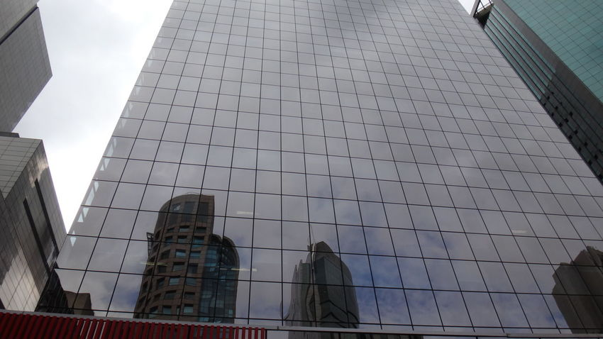PAULISTA AVENUE SAO PAULO BRAZIL MAIO 2016 Architectural Feature Architecture Building Building Exterior Built Structure Capital Cities  City City Life Cloud Cloud - Sky Day Development EyeEm Team Low Angle View Modern No People Office Building Outdoors Reflection Sky Skyscraper Tall Tall - High Travel Destinations
