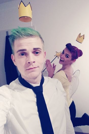Cosplay Halloween Cosmo And Wanda Timmy Turner FairlyOddParents Wenn Elfen Helfen Wanda