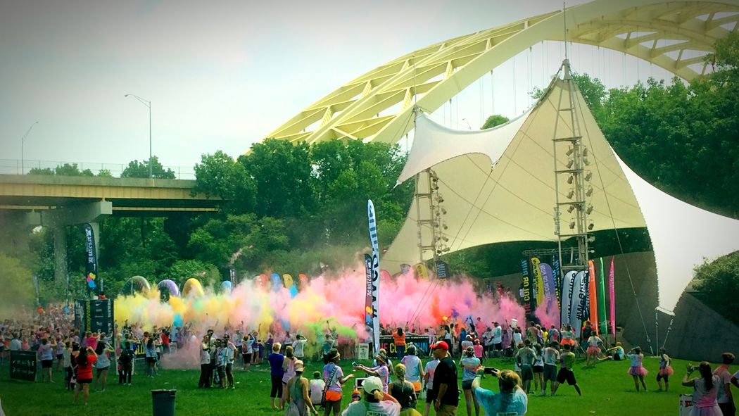 Colors Party Happiest5k ColorRun IPhoneography