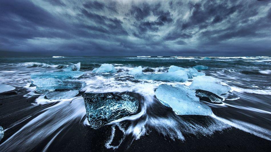 Icelandic Diamond Ice Black Beach