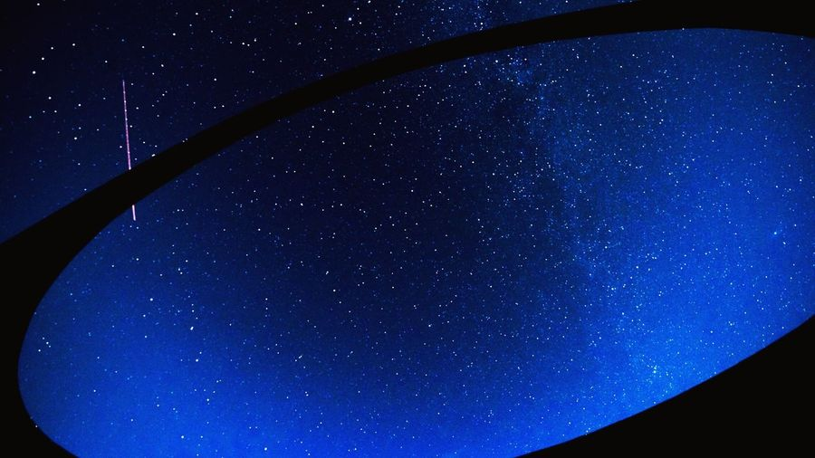 Star - Space Astronomy Night Space Blue Galaxy Low Angle View Sky No People Constellation Star Field Nature Beauty In Nature Clear Sky Outdoors Milky Way Star Trail Close-up