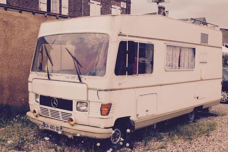Camping Car Mercedes Ouldtimer Outdoors Recreational  Truck Van