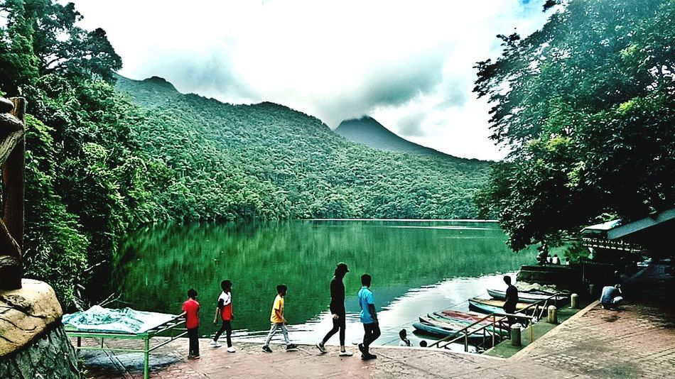 """""""BULUSAN LAKE"""" 3in1 Mountain Lake Forest Nature_collection Naturelovers Nature Photography Nature Beauty Tranquility HDR Philippines ❤️ Itsmorefuninthephilippines Filipino Pride✌ Scenics Beauty In Nature MISSIONS: EyeEmNewHere The Week On EyeEm Lost In The Landscape"""