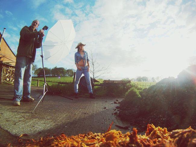 Photoshoot Strobist Modeling Shoot Sunrise