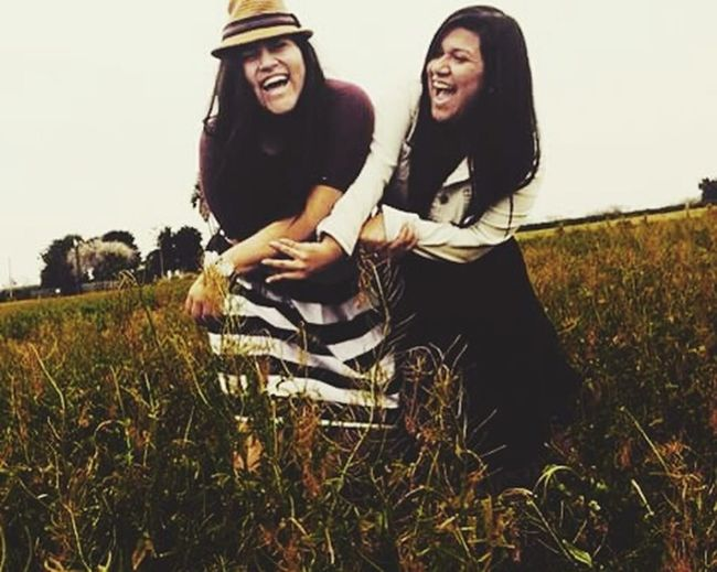 RePictureFriendship Laughter Firstpicture Popular Photos Shley&lee Amazingview Tallgrass Lovely Weather Amazingscenery