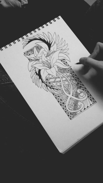 Drawing Art Getting Inspired Flowers