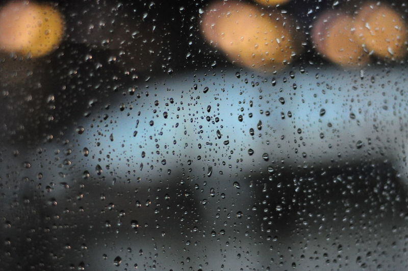 Close-up Drop Focus On Foreground Fragility Freshness Full Frame Glass - Material Indoors  Nature No People Rain Season  Water Wet Window