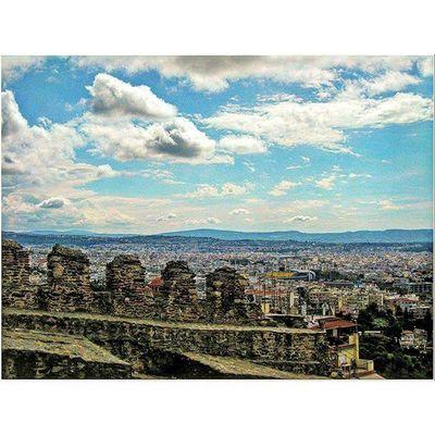 Thessaloniki Θεσσαλονίκη Solun Salonika Greece VisitGreece Instagreece Greecestagram White City Whitecity Streetofthessaloniki Viewfromthetop